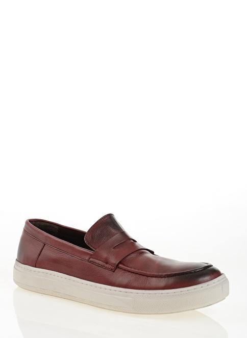 Derigo Loafer Ayakkabı Bordo